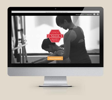 Diseño web y branding para Nalia Pilates