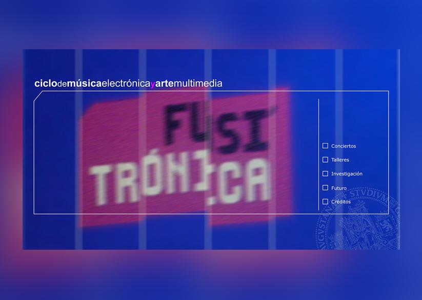 Diseño web de Fusitronica