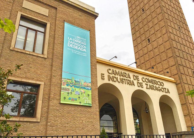 Campaña promocional exposición ``Zaragoza Deseada``
