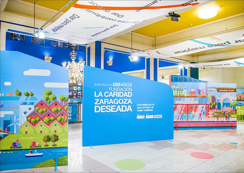 ``Zaragoza Deseada`` Exposición conmemorativa del 120 Aniversario Fundación La Caridad