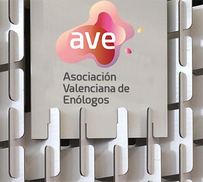 Expositor ferial Asociación Valenciana de Enólogos