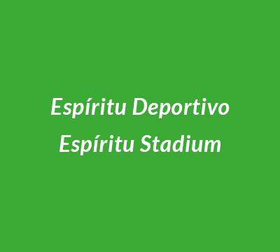 Espíritu Deportivo, Espíritu Stadium